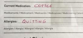 Ironman op koffie en allergisch aan opgeven