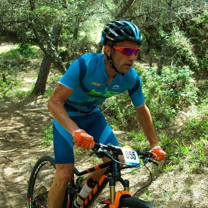 Jim Thijs Sardinie cross tri bike