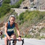 Veerle Dejaeghere duatlon Alpe d'Huez