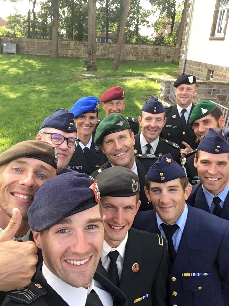 Belgian Military team dress 2017