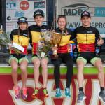 BK MTR 185 podium
