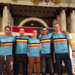 Belgium3Team ceremonie Rotterdam