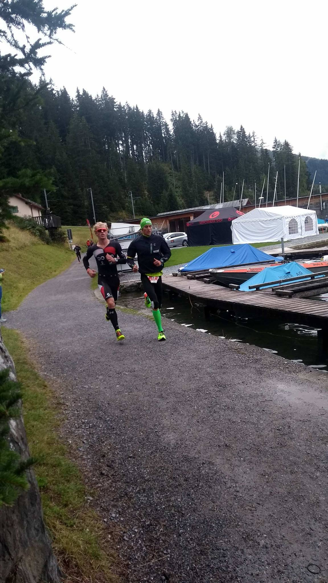 Pieter heemeryck run Challenge Davos
