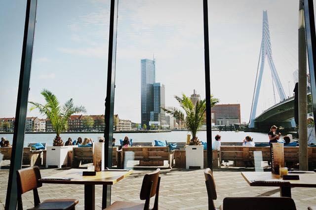 Prachtig Terras Rotterdam