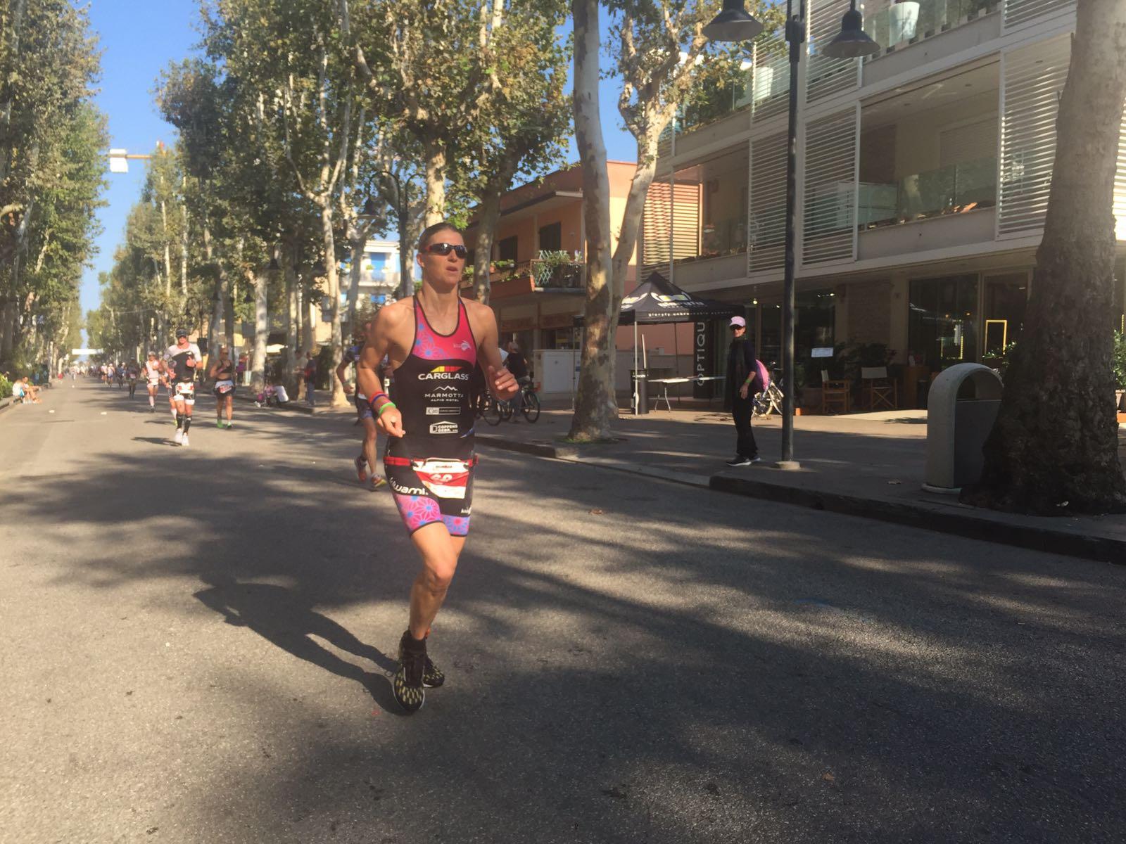 Tine Deckers Emilia Romagna Ironman run