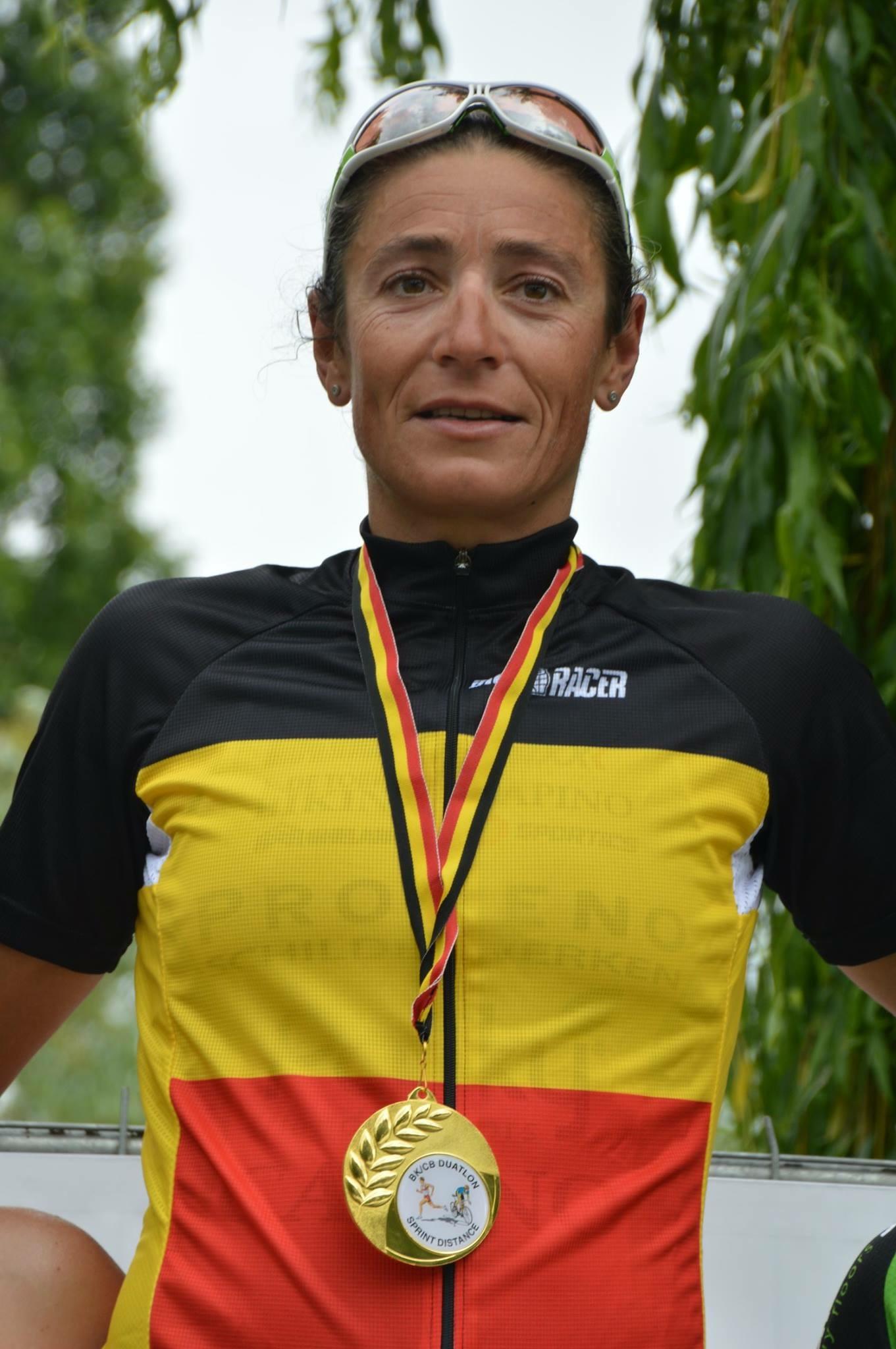 Ilse Geldhof kampioenentrui