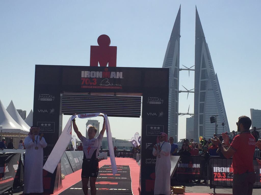 Kristian Blummenfelt Bahrein