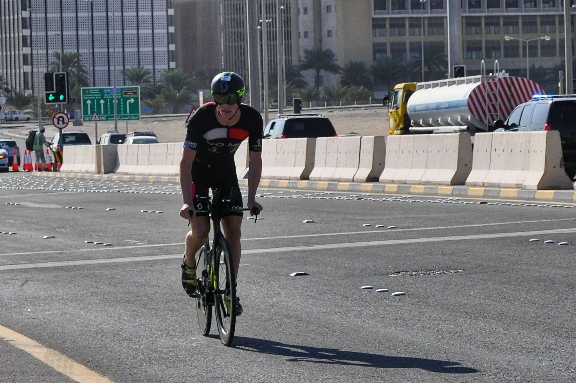 Pieter Heemeryck Bahrein bike