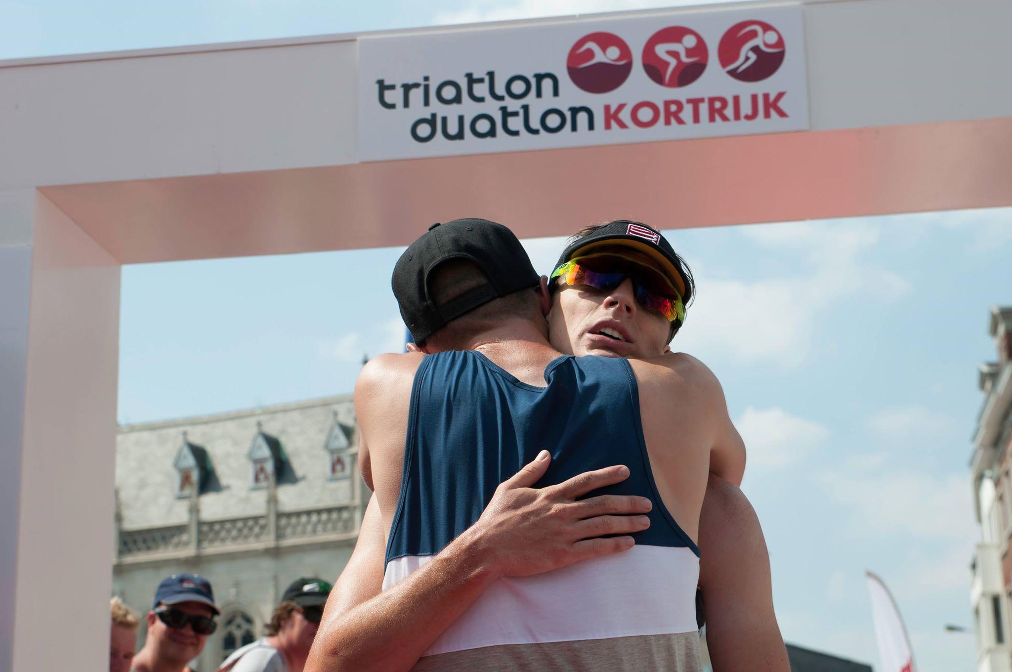 Gert Jan Dhaene Vincent Van De Walle Kortrijk hug 2017