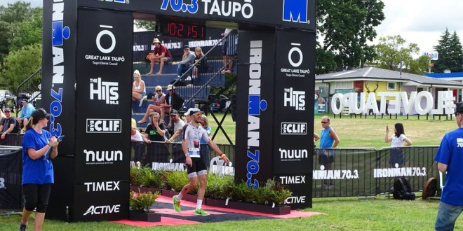 Bossie pakt age group goud in Taupo… tijdens huwelijksreis