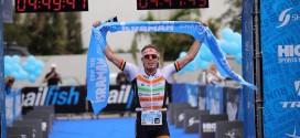Belg wint halve triatlon in Israël