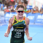 Henry Schoeman wint Grand Final in Cozumel in 2016 (foto: ITU/Delly Carr)