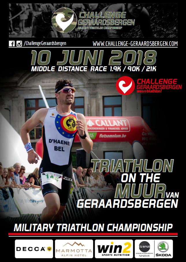 Challenge Geraardsbergen militair WK affiche