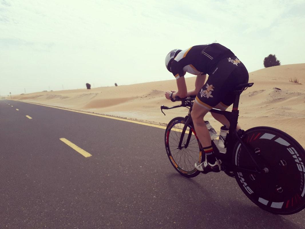 Seppe Odeyn Dubai bike