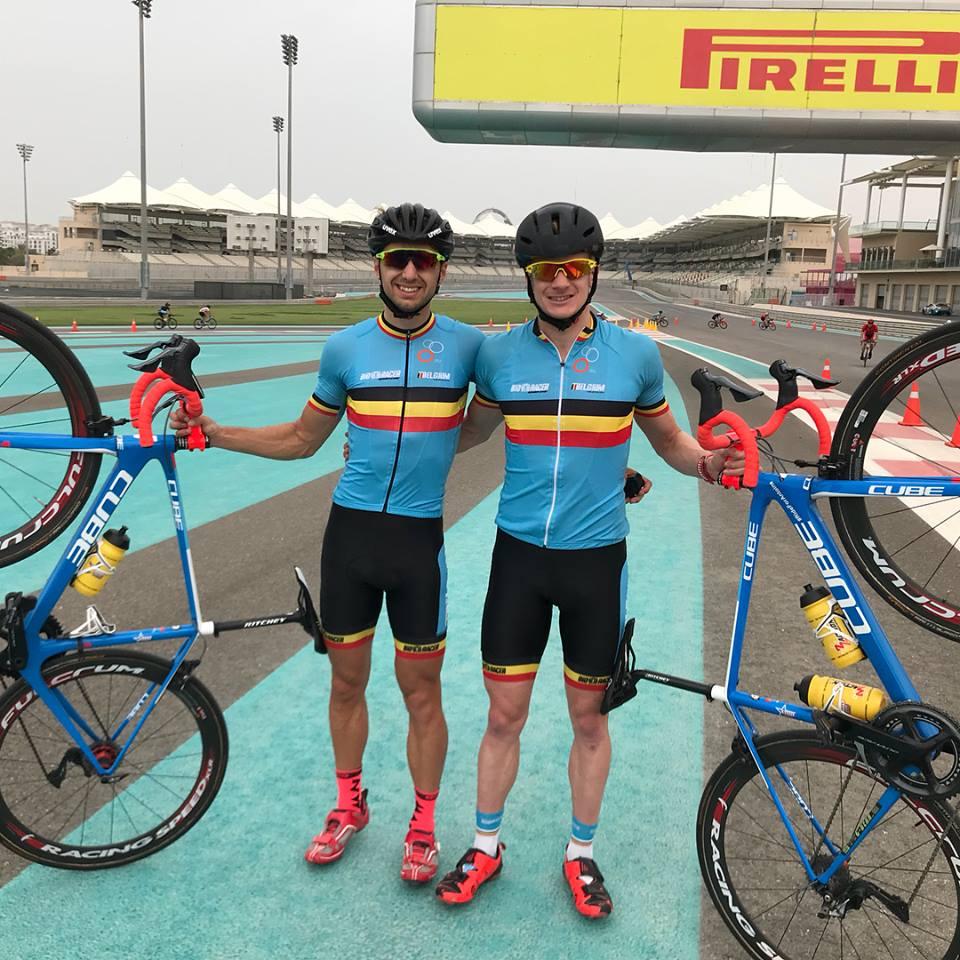 CDK Erwin VDP Abu Dhabi circuit