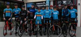 Groot en jong Belgisch triatlon team in ETU Quarteira