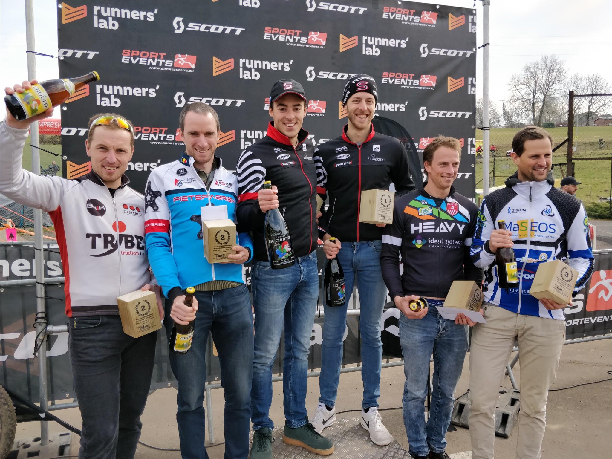 Grand Raid podium mannen 2018