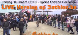 LIVE: Triatlon Herderen 2018