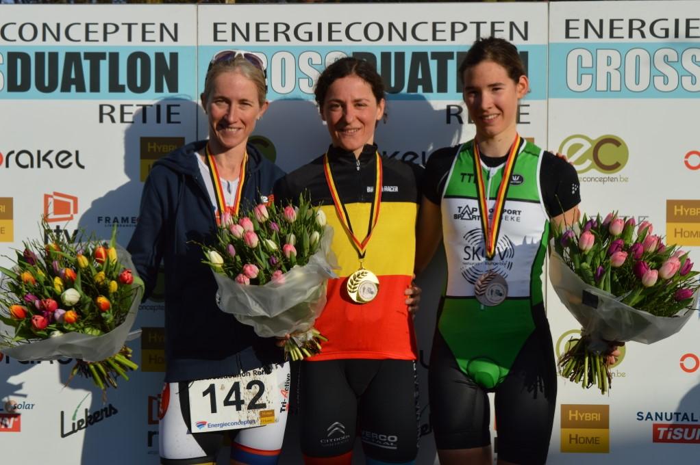 Stefanie Adam BK Retie podium