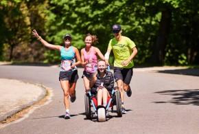 Triatleten geven Kimberly vleugels