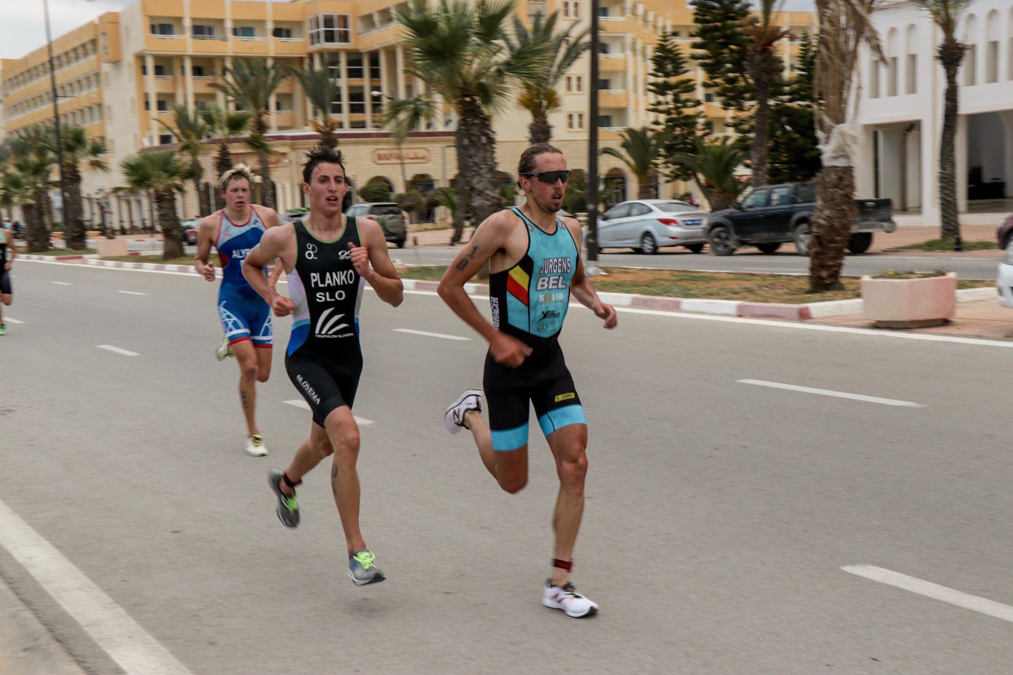 Thomas Jurgens loopt naar de 14de plaats (foto: Emilio Hernaert)