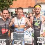 Pareyn, Baelde en Lagae in Koksijde (foto: 3athlon.be/Johan Tack)