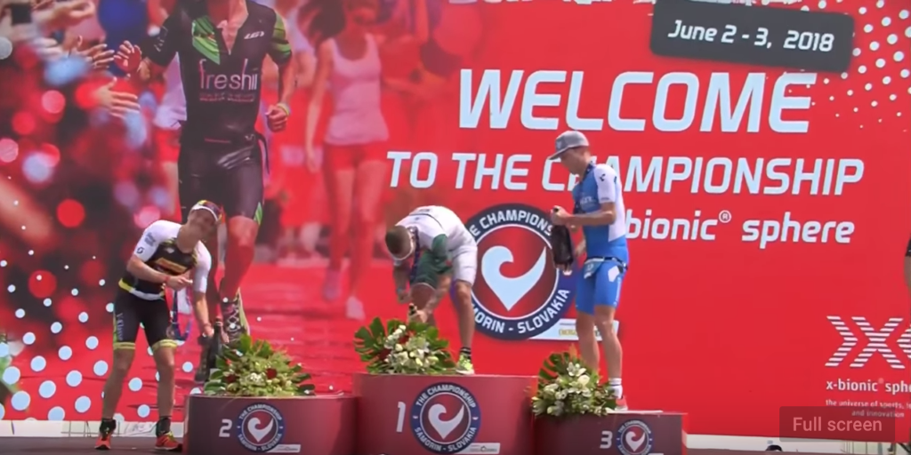 10 2018 Best champagne shower ever Challenge Samorin YouTube