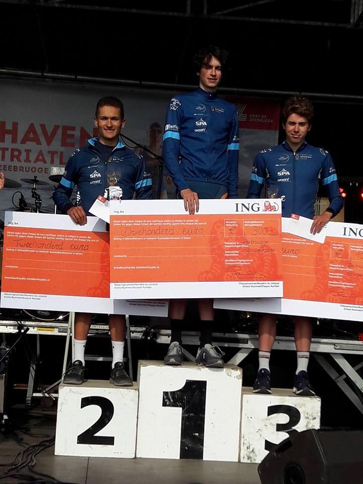 Haventriatlon TBT podium