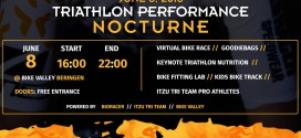 Triatlon Nocturne in Flanders Bike Valley