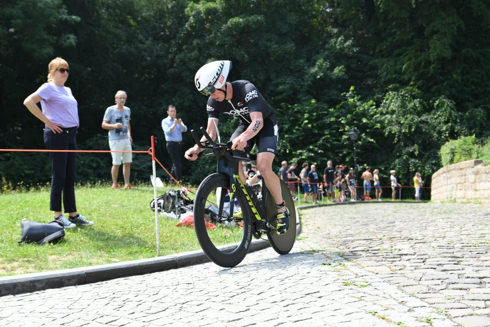 Pieter Heemeryck op De Muur (foto: 3athlon.be/Mario Vanacker)