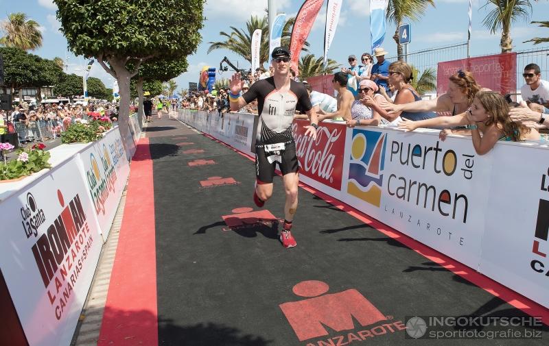 Seppe Odeyn IM Lanzarote 2018 finish
