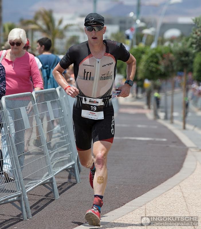 Seppe Odeyn Lanzarote run