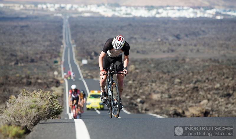Seppe Odeyn klimmen Lanzarote
