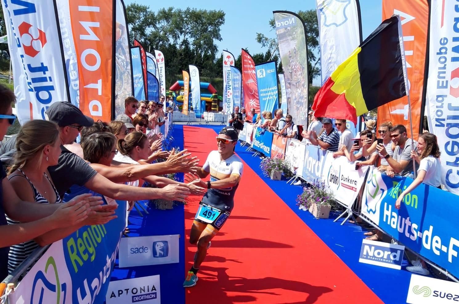 Arne Devliegher wint de 113 Chtriman (foto: Julie Van Kerrebroeck)