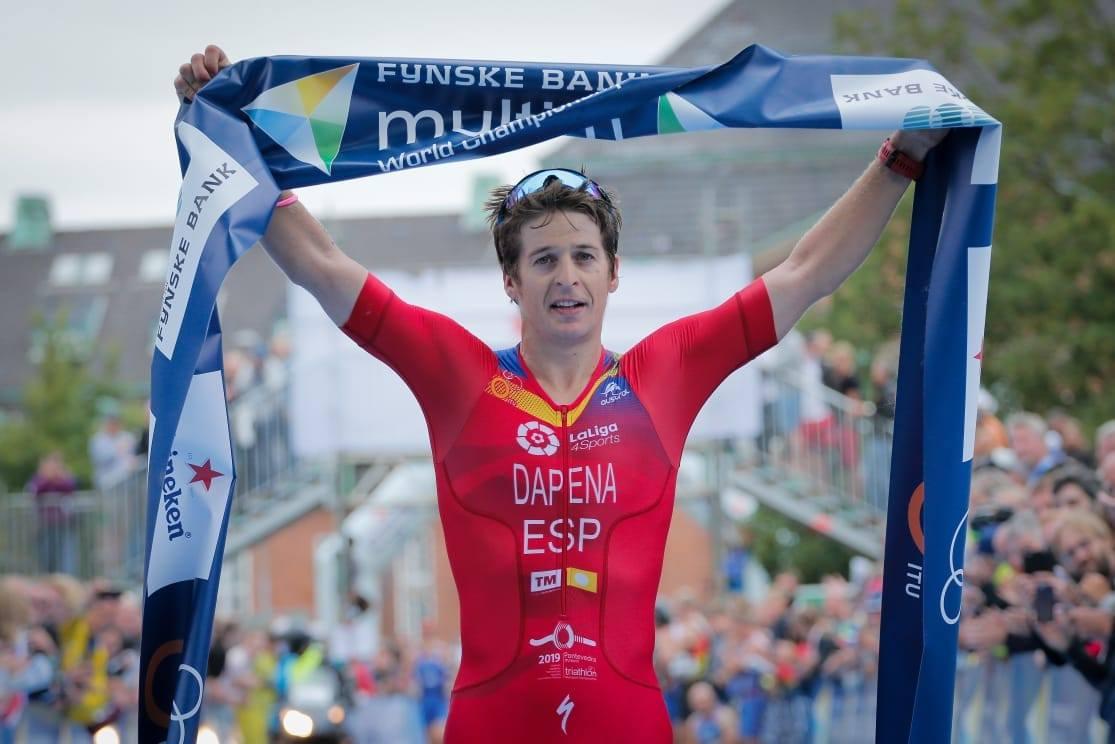 Pablo Dapena wereldkampioen (foto: ITU)