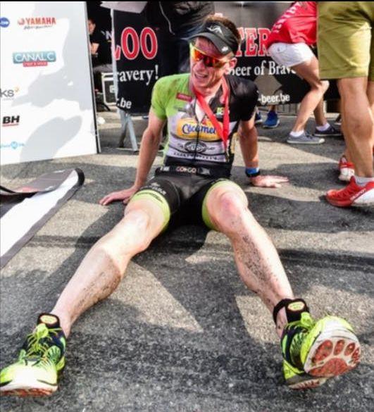 Geert Lauryssen Xterra France 2018 finish