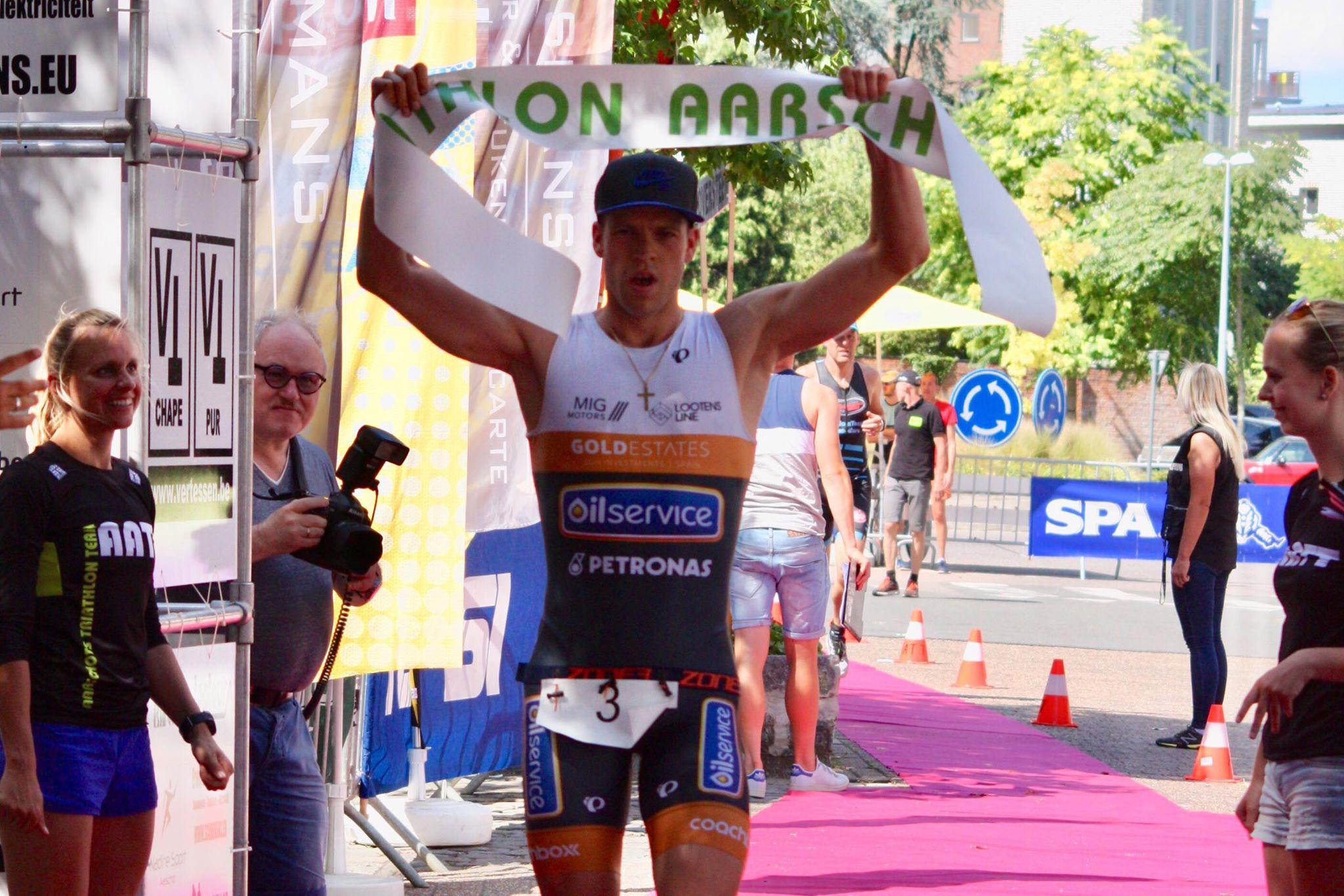 Kjel De Hertog Aarschot finish