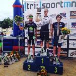 Martijn Dekker podium Maaseik