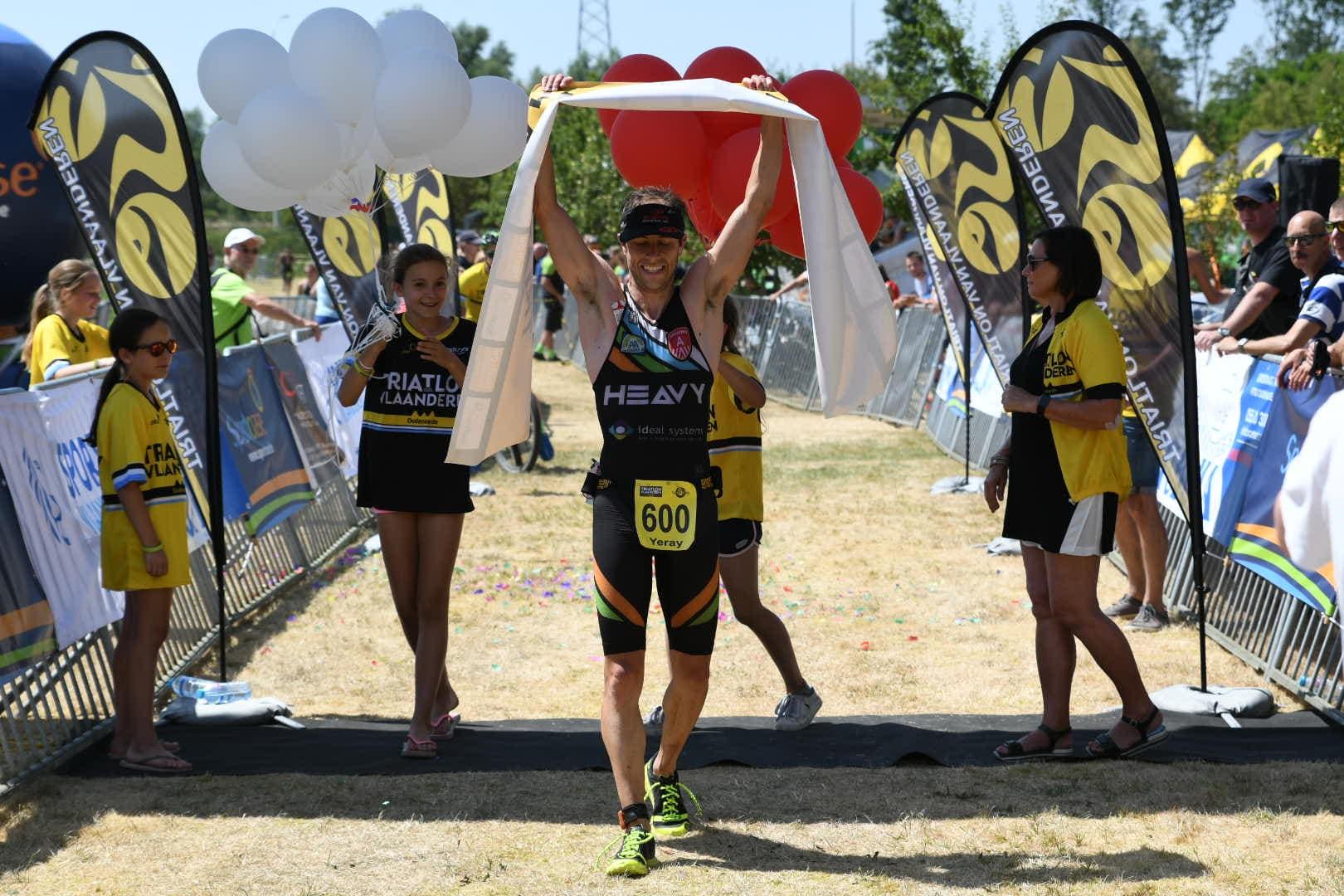 Yeray Luxem opnieuw Belgisch kampioen cross triatlon (foto: 3athlon.be/Mario Vanacker)