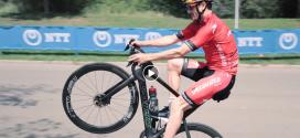 WTS atleten tonen hun bike skills