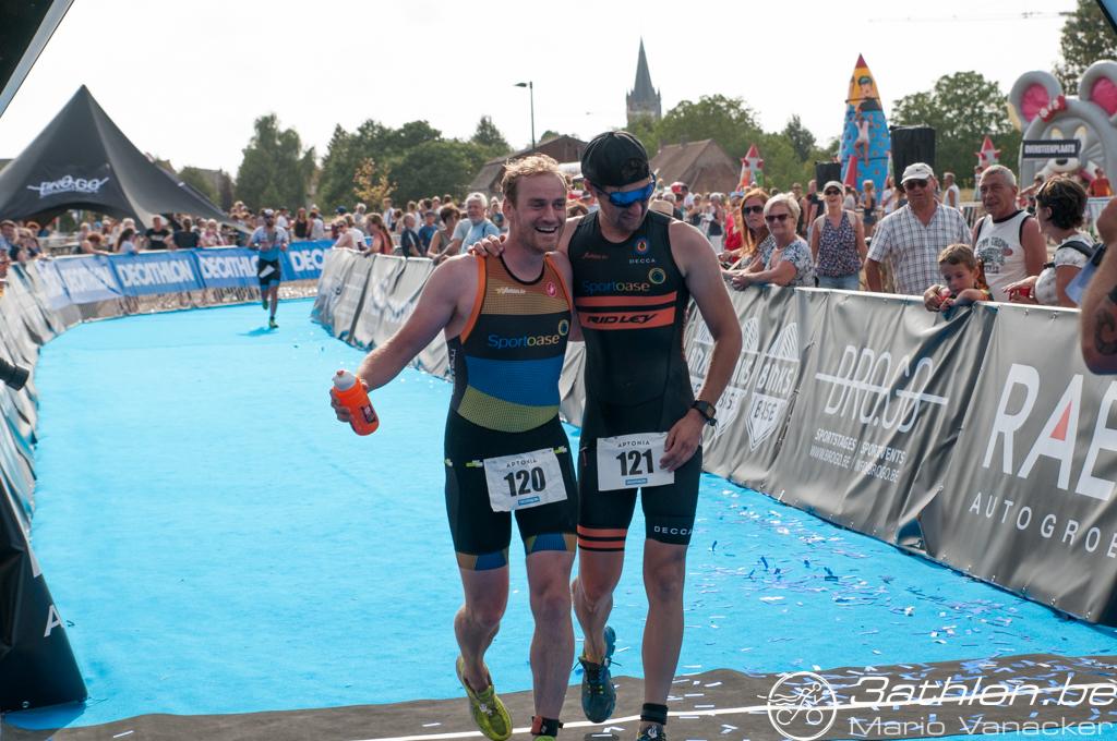 3athlon.be Sportoase boys Croes en D'haene (foto: 3athlon.be/Mario Vanacker)