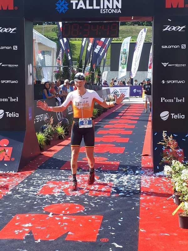Seppe Odeyn Tallinn finish