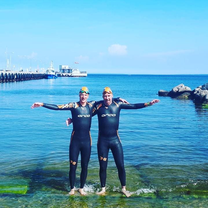 Seppe Stefaan Tallinn swim