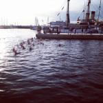 Tallinn swim start