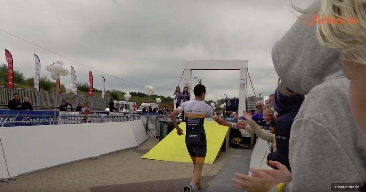 106 Halve triatlon Knokke Heist 2018 YouTube