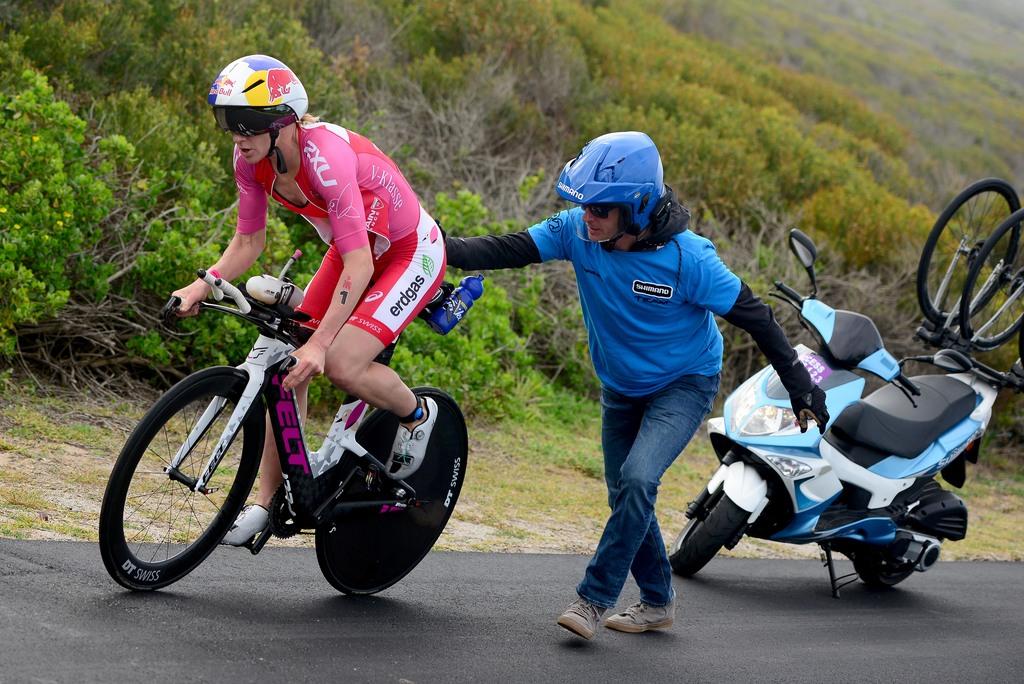 Daniela Ryf bike Z Afrika