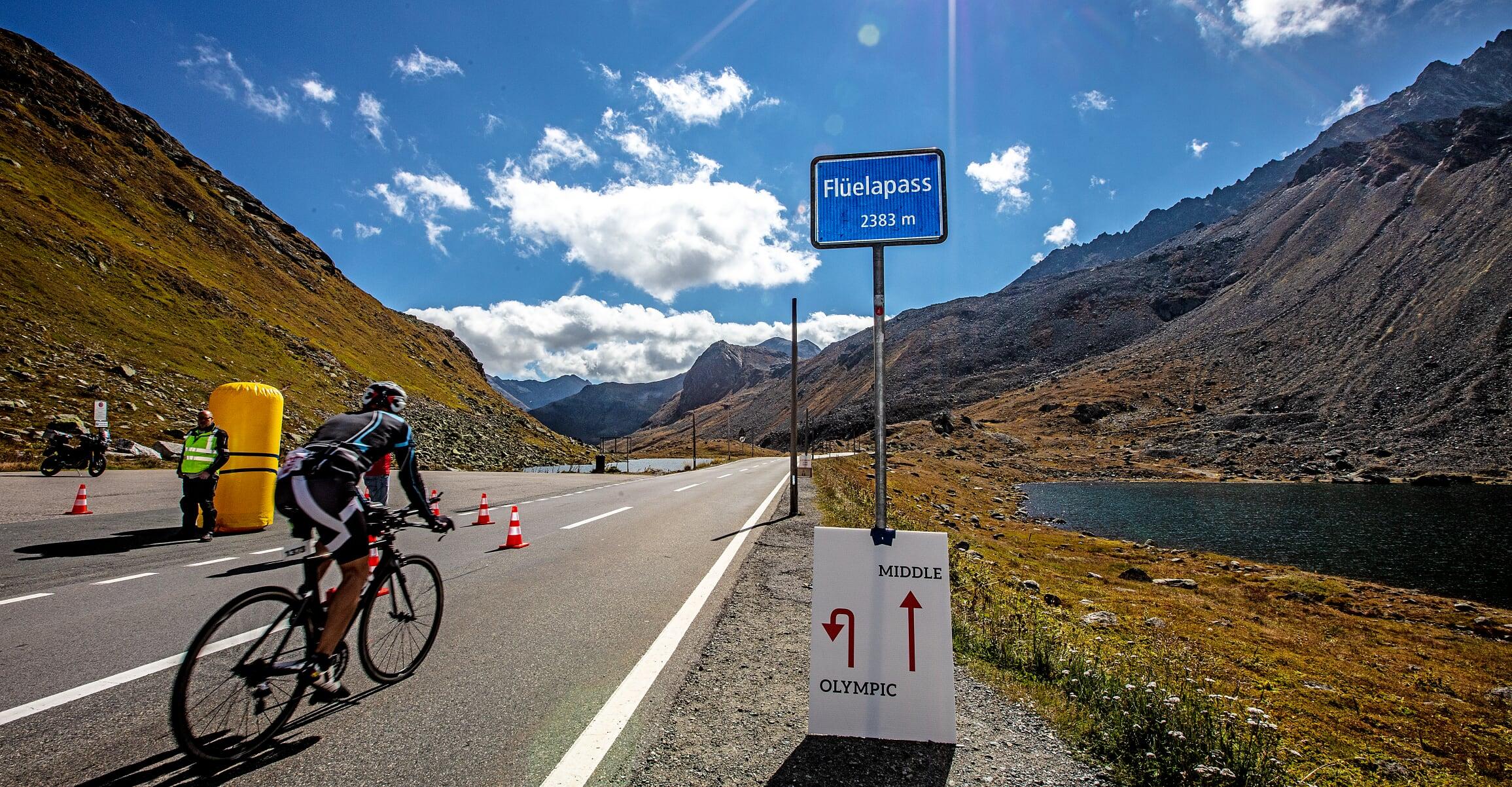 De Fluelapas die twee keer werd beklommen (foto: Ingo Kutsche)