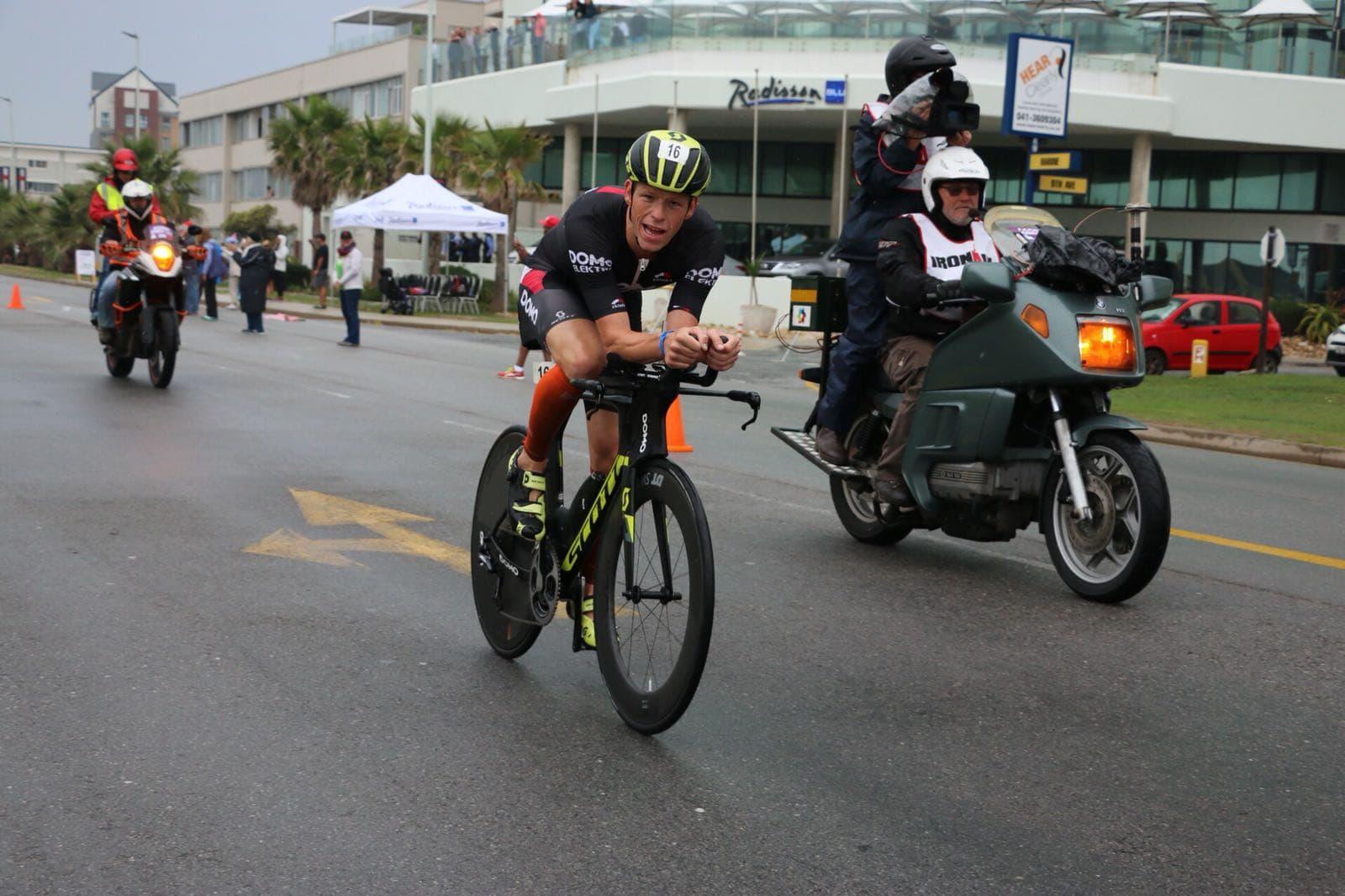 Pieter Heemeryck bike Zuid-Afrika
