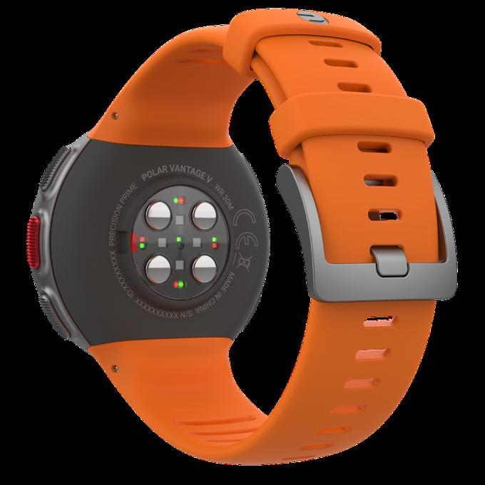 Polar Vantage V orannje sensors
