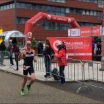 Jeroen Van Overmeire in zijn laatste ronde (foto: Jeroen Van Overmeire)